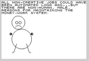 Micro Arts animation SCUM Manifesto Solanas Warhol