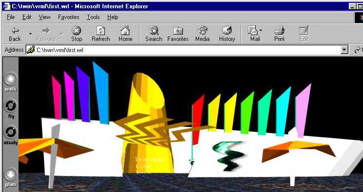 VRML gallery Metaverse 1995
